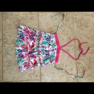 Two Girl's Size 8 tops by Justice